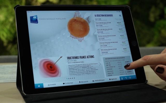 déploiement des tablettes numériques en agence de la BPCA
