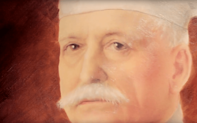 Documentaire sur la vie d'Auguste Escoffier, chef de cuisine pour la promotion de la fondation Escoffier