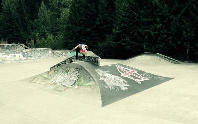 Vidéo de skate board tournée au Canada