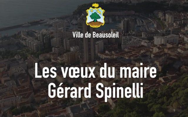 Pour une communication institutionnelle efficace, les voeux du Maire de Beausoleil Gerard Spinelli ont été produits par ONEProd